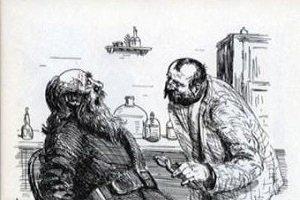 короткий рассказ «Хирургия» А. П. Чехов