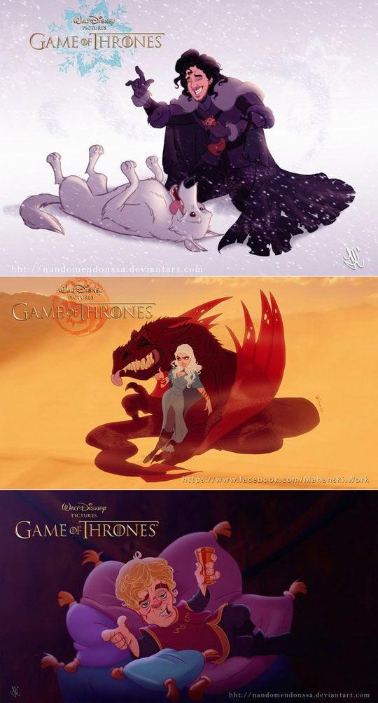 Игра престолов в исполнении Disney!