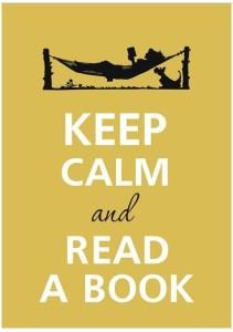 сохраняй спокойствие и читай книгу