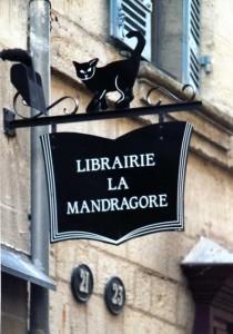 Франция вывеска книжного магазина