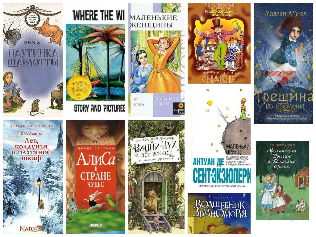 Рейтинг лучших книг для детей от ВВС