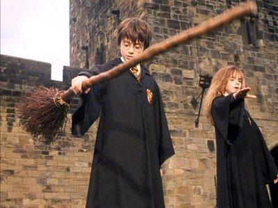 Первая Метла Гарри Поттера