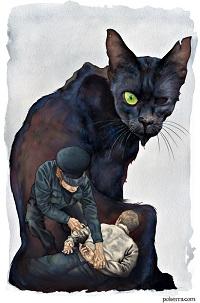 Черный кот Эдгар Алан По