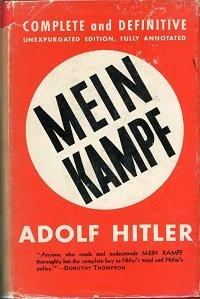 запрещенные книги Гитлер «Майн Кампф»