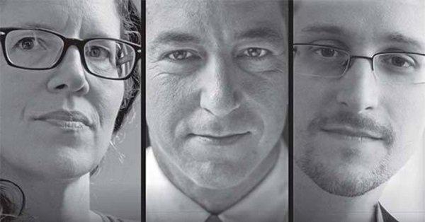 Snowden Glenn Greenwald Laura Poitras